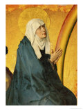 Saint Mary  Supposed to be a Portrait of Mme Rolin  Wife of Nicolas Rolin