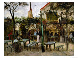La Guinguette in Montmartre  c1886