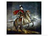 Felipe III  King of Spain (1578-1621) on Horseback