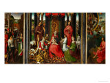 Altarpiece of St John the Baptist and St John the Evangelist  1474-79