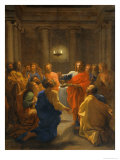 Jesus Christ Instituting the Eucharist  1640-1641