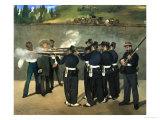 The Execution of Emperor Maximilian of Mexico  June 19  1867