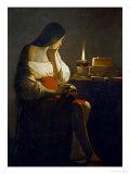 The Magdalene with a Night Light Giclée par Georges De La Tour
