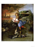 Saint Michael  Painted for Guidobaldo Montefeltro  Duke of Urbino