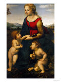 Madonna and Child with St John the Baptist  1507