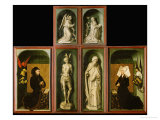 Altar of the Last Judgment  Reverse Panels