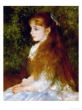 Little Irene  Portrait of the 8 Year-Old Daughter of the Banker Cahen D&#39;Anvers  1880