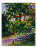 The Garden Around Manet's House in Reuil  France