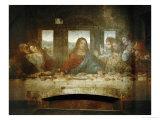 Last Supper, Detail of Christ with Apostles, 1498 Giclée par Leonardo Da Vinci