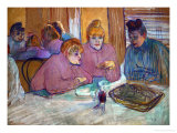 Prostitutes Around a Dinner Table  1893