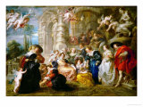 The Garden of Love  1633-1634