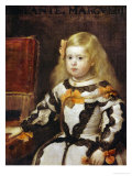 Portrait of the Infanta Maria-Margarita  Daughter of Philip IV  King of Spain