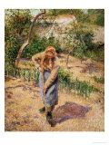 Farmwoman Digging