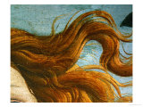 The Birth of Venus (Venus Anadyomene)  Detail