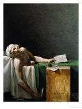 Jean Paul Marat  Politician  Dead in His Bathtub  Assassinated by Charlotte Corday  1792