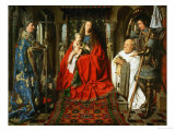 Madonna Adored by the Canonicus Van Der Paele