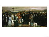 Funeral at Ornans  France  1849