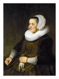 Female Portrait (Woman Looking at Her Husband)