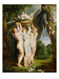 And Jan Brueghel the Younger (1601-1678): The Three Graces