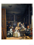 Las Meninas (With Velazquez&#39; Self-Portrait) or the Family of Philip IV  1656