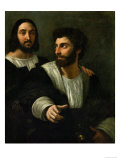 Raphael (Self-Portrait) and His Fencing Master