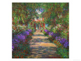 The Artist&#39;s Garden at Giverny  1902