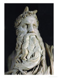 Moses (Detail)  from the Tomb of Pope Julius II Rovere  in San Pietro in Vincoli  Rome