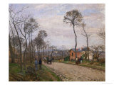The Road to Louveciennes  1870