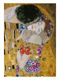 Le baiser, détail Reproduction d'art par Gustav Klimt