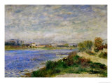 The Seine River Near Argenteuil  circa 1873