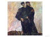 Eremiten (Hermits) Egon Schiele and Gustav Klimt