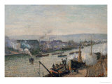 The Port of Rouen  1896