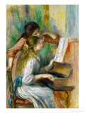 Two Girls at the Piano  1892