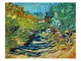 The Road to Saint-Remy, c.1890 Giclée par Vincent Van Gogh