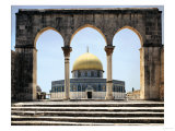 The Dome of the Rock was Built During the Omayyad Caliphate on the Temple Mount in Jerusalem