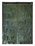 The Bronze Door of St Mary's Cathedral in Hildesheim was Cast Under Bishop Bernward (993-1022)