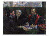An Examination at the Faculty of Medicine  1901