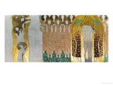 The Beethoven Frieze Giclée par Gustav Klimt