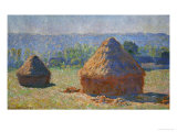 The Haystacks  End of Summer  Giverny  1891