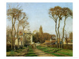 Entry into the Village of Voisins (Yvelines)  1872