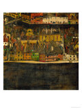 Die Kleine Stadt (II) or Kleine Stadt (III) Assembled from Separate Parts