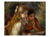 Reading (La Lecture), 1890-1895 Giclée par Pierre-Auguste Renoir