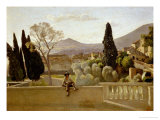 The Gardens of Villa D'Este  1843