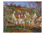 Red Roofs  a Village Corner  Winter  1877