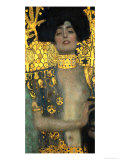 Judith with the Head of Holofernes, 1901 Reproduction d'art par Gustav Klimt