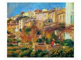 Terrace at Cagnes, 1905 Giclée par Pierre-Auguste Renoir