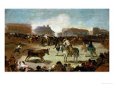 A Bullfight in a Village  1812-1814