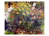 Women Amidst Flowers  1875