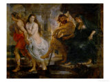 Orpheus and Euridice with Pluto and Proserpina  Painted for the Torre De La Parada