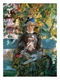 Comtesse Adele-Zoe De Toulouse-Lautrec  the Artist's Mother  1882